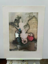 S/N Rosina Wachtmeister signed numbered print Never framed 23x31