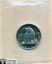 2006 1/2oz Silver Wolf Coin .9999 Fine (11732)