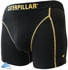 CAT® CATERPILLAR Herren Boxer Shorts Boxer Long Lange Unterhose Retro Größe S M