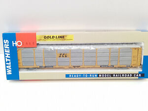 Walthers Gold Line Bi-level Auto Carrier SCL TTGX 913033 HO Freight Car 93240108