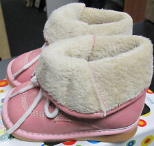 NEW GIRLS SQUEAKER SNEAKERS PINK FOLD OVER SQUEAKY BOOTS SZ 8