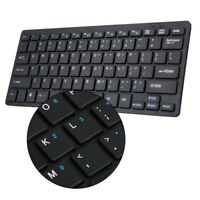 USB Wireless Slim Keyboard and Cordless Mouse 2.4GHZ Combo Kit Laptop Tool