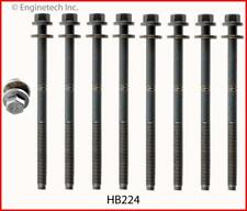 Head Bolt Set  EngineTech  HB224   Ford  2.5L & 3.0L  DOHC  Duratec  1995 - 2012