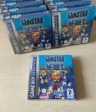 GUNSTAR FUTURE HEROES NINTENDO GAMEBOY ADVANCE NUOVO PAL ITA EU GBA SIGILLATO
