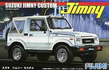 NEW FUJIMI SUZUKI JIMNY CUSTOM 1/24 Scale PLASTIC MODEL KIT