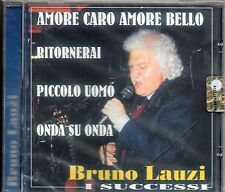 BRUNO LAUZI CD Made in Italy I SUCCESSI nuovo sigillato  LUCIO BATTISTI