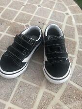 8703d662ee1575 Vans Kids Size 5 Toddler Kyle Walker Pro Suede Skateboarding Shoes Black  721454
