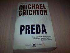 MICHAEL CRICHTON-PREDA-ELEFANTI GARZANTI 2004 BUONISSIMO!!