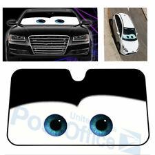 Cartoon Eye Big Car Windscreen Sun Shade UV Aluminium Foil Heat Blocking #