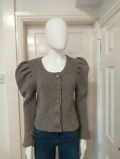 Ronit Zilkha Chunky Wool Blend Cardigan Size XL/16