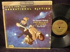 DON ELLIOTT LP: Music For The Sensational Sixties,  Vespa in Space Cover,1958