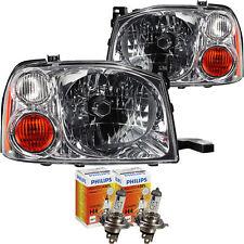 Scheinwerfer Set für Nissan Pick-up D22 Bj. 11/01->> H4 inkl. PHILIPS Lampen