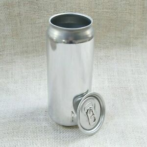 Box Of 24 x 500ml SilverBeer cans 53mm Standard 202 lids