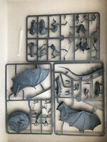 Lord of the Rings / LOTR - The Witch-King of Angmar on Fell Beast - New on Sprue