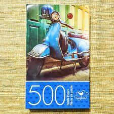 Cardinal Jigsaw Puzzle, Vintage Vespa Scooter, 500 Pieces