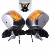 Rear View Mirror Turn Signal Fit For Honda Goldwing Gold Wing GL1800 2001-2017