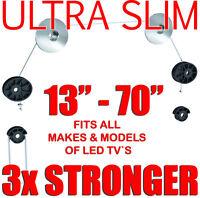 Ultra Slim LED LCD Plasma TV Wall Mount Bracket For LG TVs 26 32 37 42 50 55 60