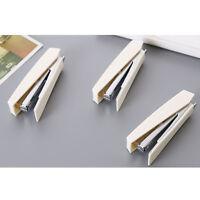 New Staple Stapler Metal Tie Rod Stapler White Office School Home Supplies AL