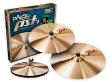 PST 7 Universal Set ( 14/16/20 ) 14 Hi Hat 16 Crash 20 Ride Cymbal (2) Pack 4...