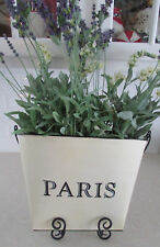 Shabby-Chic-Beautiful-Country-French-Metal-Hanging-Paris-Flower-Basket