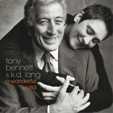 TONY BENNETT & K.D.LANG A WONDERFUL WORLD CD NEW