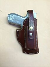 Ruger SR22 Leather Holster with Magazine Pouch #9096