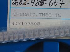 5 x SFECA10.7MS3-TC Keramik Filter SMD von MURATA