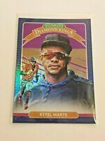 2020 Donruss Baseball Purple Holo Diamond Kings - Ketel Marte - Diamondbacks