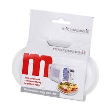 Microwave It Pocheuse Oeuf Micro-Ondes Lunch Accessoires Travail Voyage Pratique