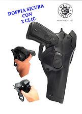 Fondina per pistola beretta 98 92 FS con sgancio rapido da cintura Vega holster