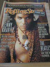 Rolling Stone 722 Lenny Kravitz Beatles Smashing Pumpkins Alice in Chains