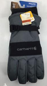Carhartt, Men's Waterproof Insulated Gloves, Green