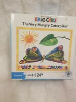 1 Eric Carle VERY HUNGRY CATERPILLAR Children Preschool 24 Piece Jigsaw Puzzles