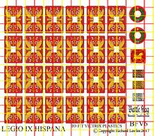 Shield Decals for Victrix Early Imperial Roman Legionaries. Legio IX Hispana.