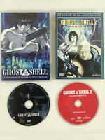 Lot de 2 DVD VF  Ghost in the Shell 1 et 2   Envoi rapide et suivi