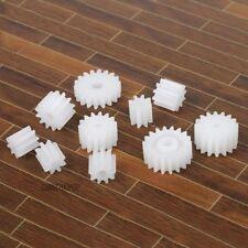 20Pcs Engranajes De Plástico para Motor Eléctrico RC caja de cambios de Coche Modelo de juguete M 0.5 8-18 dientes