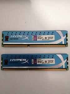 Kingston mémoire HyperX DDR3 2 x 4 Go KHX1600C9D3K2/8G