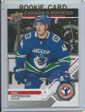 2018-19 Upper Deck Elias Pettersson Rookie Card RC #1 National Hockey Card Day