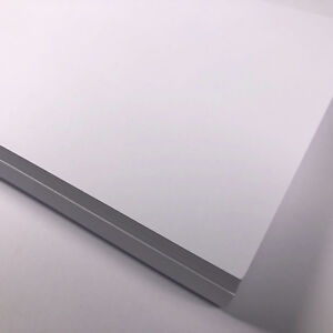 A4 White Card 100 sheets Bright White 180gsm 230 micron Thin Craft Printer Card