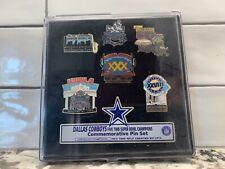 Dallas Cowboys Five-Time Super Bowl Champion Commemorative Pin Set