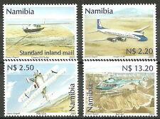 Namibia - Zivilluftfahrt Satz postfrisch 2001 Mi. 1037-1040