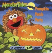 Sesame Street: Monster Tales Pumpkin Patch Party - BOARD BOOK - BRAND NEW!