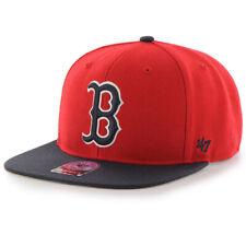 Boston Red Sox MLB Men's '47 Sure Shot 2-Tone Captain Snapback Baseball Hat Cap