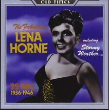 Lena Horne    Fabulous  CD    Brand new and sealed