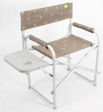 Via Mondo Aluminium Directors Chair With Table
