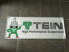 Tein Suspension banner sign motor sports performance racing garage shop wall Jdm
