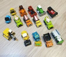 Micro Machines large lot of 15 construction vehicles