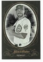 2019 Allen & Ginter Baseball Box Loader/ Box Topper Kris Bryant Chicago Cubs