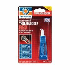 Permatex 27100 High Strength Threadlocker Thread Red .20 oz-Loctite
