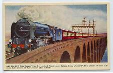 Bois Roussel L&NE Railway Train Artist Signed Alan Anderson UK postcard